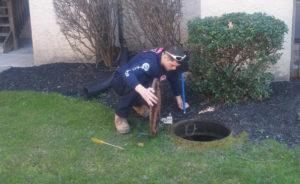 Manhole Cleaning by Budget Rooter in Budget Rooter in New Castle County, DE