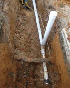 Pipe repairs at Budget Rooter in Budget Rooter in New Castle County, DE