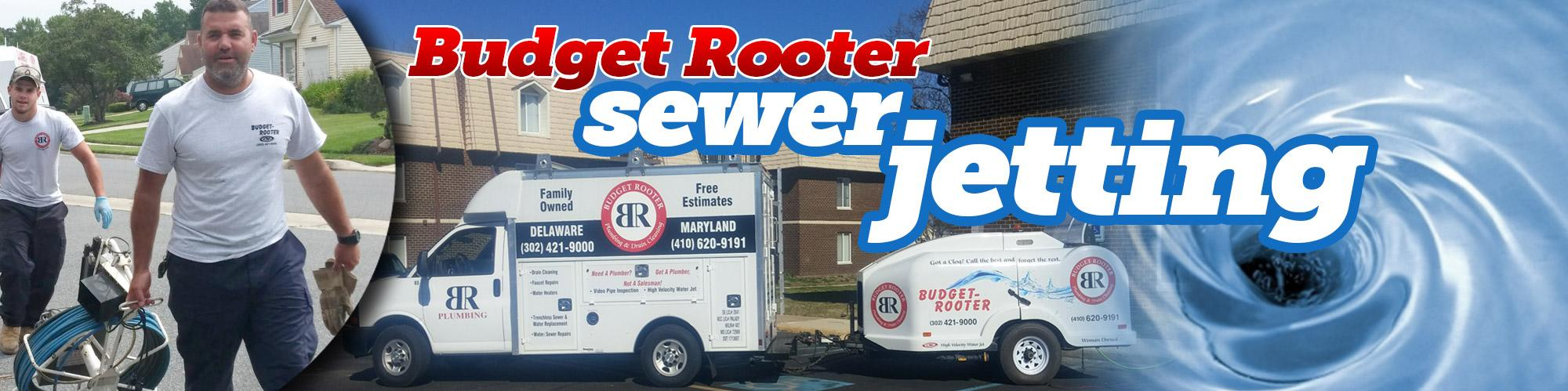 Sewer Jetting Services in Budget Rooter inNew Castle County, DE