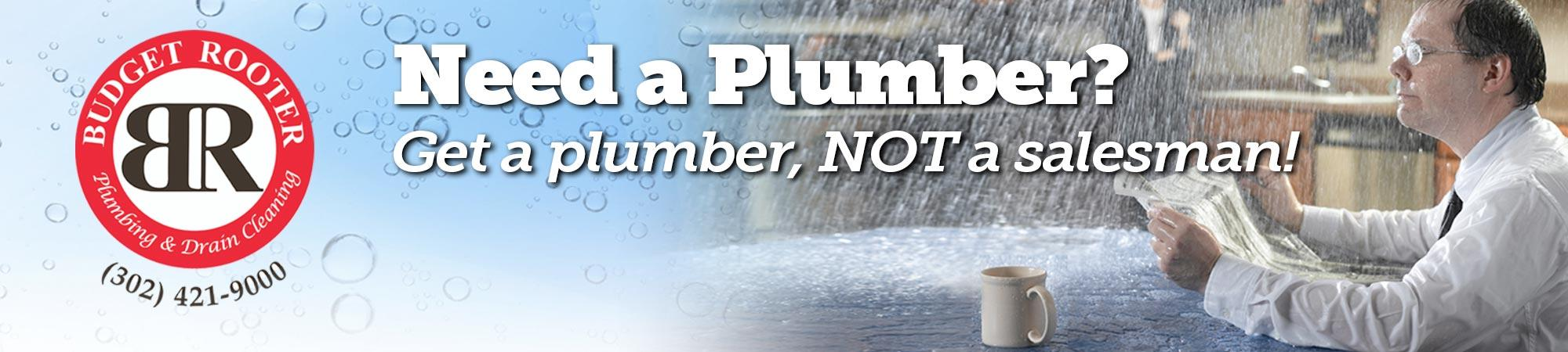 Plumbing Services by Budget Rooter in New Castle County, DE