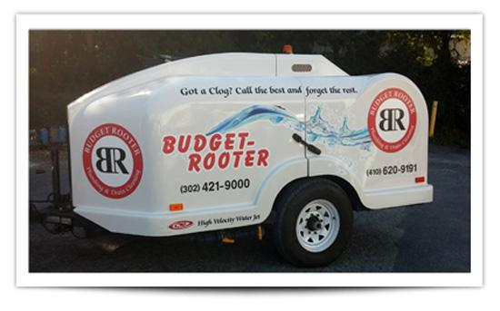 Sewer Jetter at Budget Rooter in New Castle County, DE